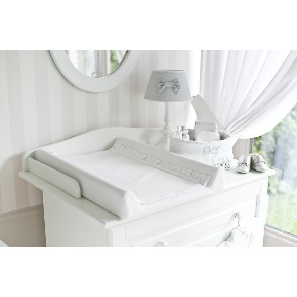 Caramella Shiny Baby Changing Station with Lace - Beautiful Bambino