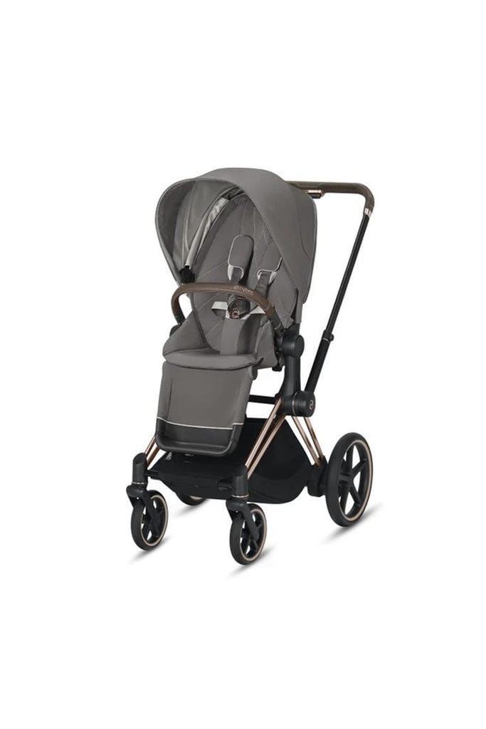 Cybex e-Priam Pushchair 2020 - Soho Grey - Beautiful Bambino
