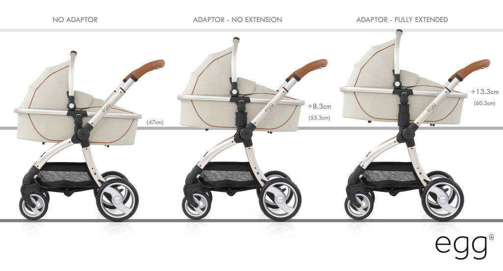Egg Adjustable Height Adaptors - Beautiful Bambino