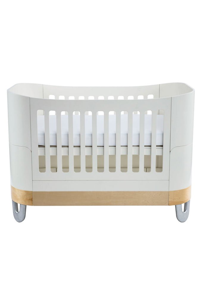 Gaia Baby Serena Complete Sleep + Co-Sleep 2 Piece - White and Pine - Beautiful Bambino