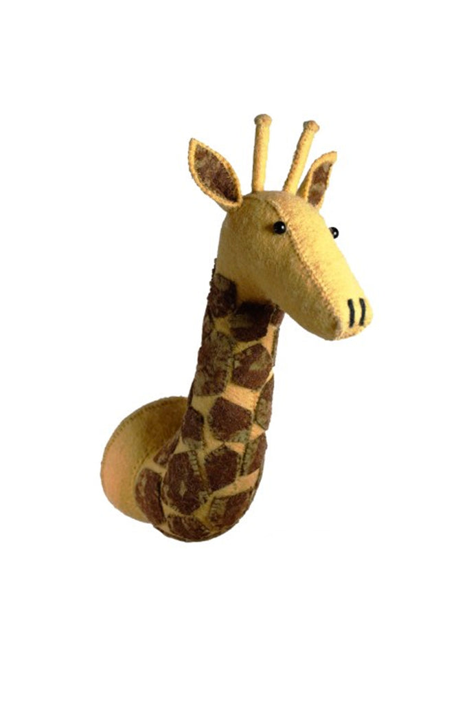 Fiona Walker England Decorative Giraffe With Tie-Dye Patches Head - Beautiful Bambino