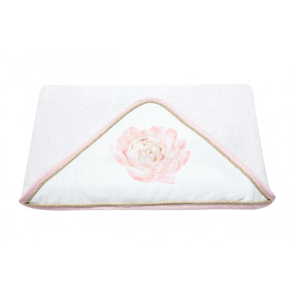 Caramella Secret Garden Hooded Towel - Beautiful Bambino
