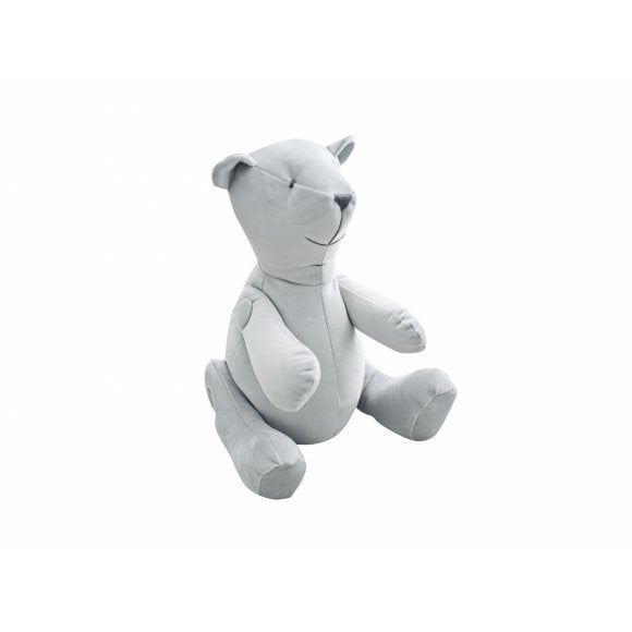 Caramella Grey Velvet Teddy Bear - Beautiful Bambino