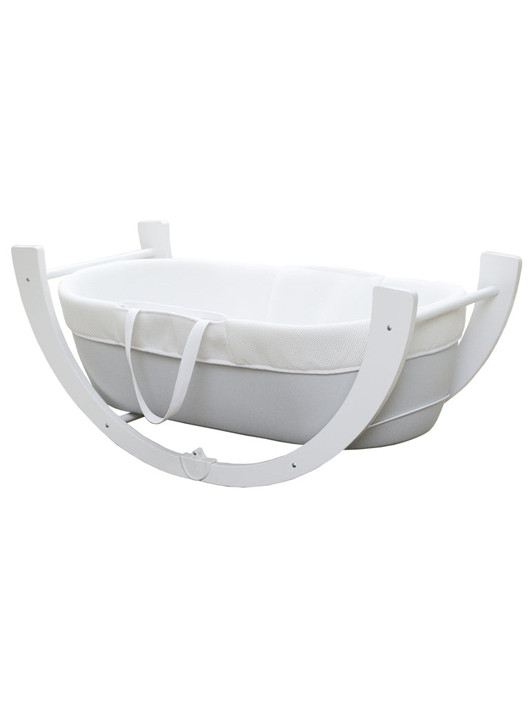 Shnuggle Dreami Moses Basket and Stand - Beautiful Bambino