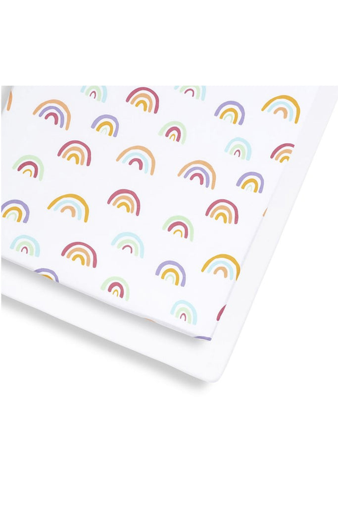 Snüz Cot & Cot Bed 2 Pack Fitted Sheet – Colour Rainbow - Beautiful Bambino