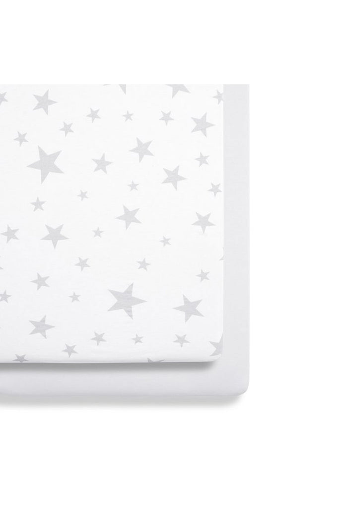 Snüz Crib 2 Pack Fitted Sheets - Stars - Beautiful Bambino