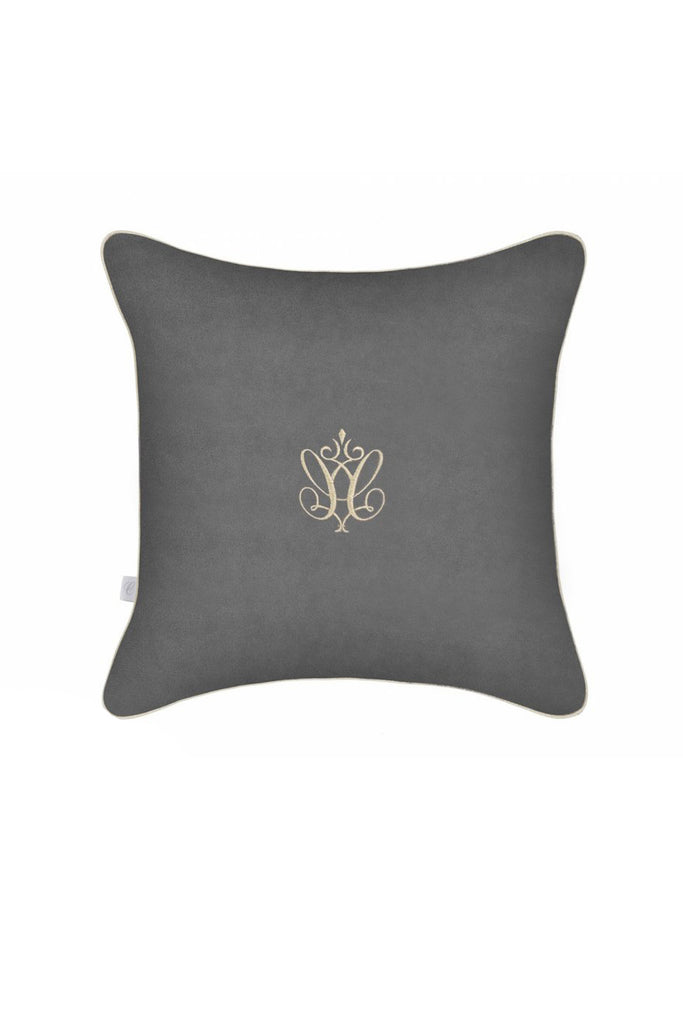 Caramella Pillow in Anthracite Gloss - Beautiful Bambino