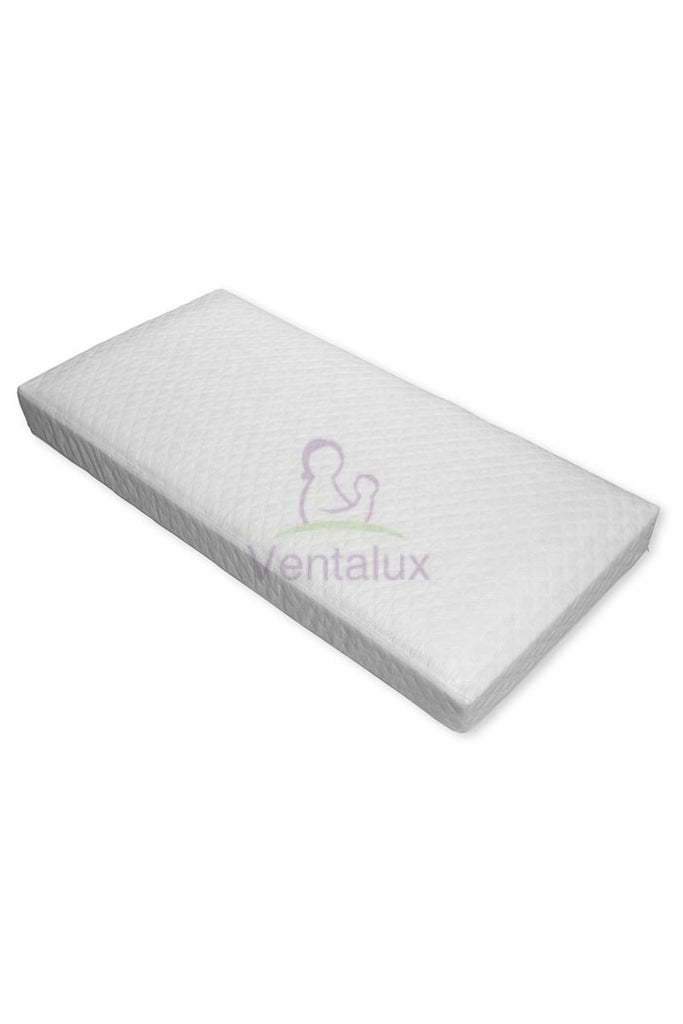 Ventalux Deluxe Quilted Framed Pocket Sprung SnuzKot Mattress - Beautiful Bambino