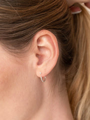 Hoop Earring Jackets ethical & sustainable jewelry made from recycled sterling silver#metal_sterling-silver