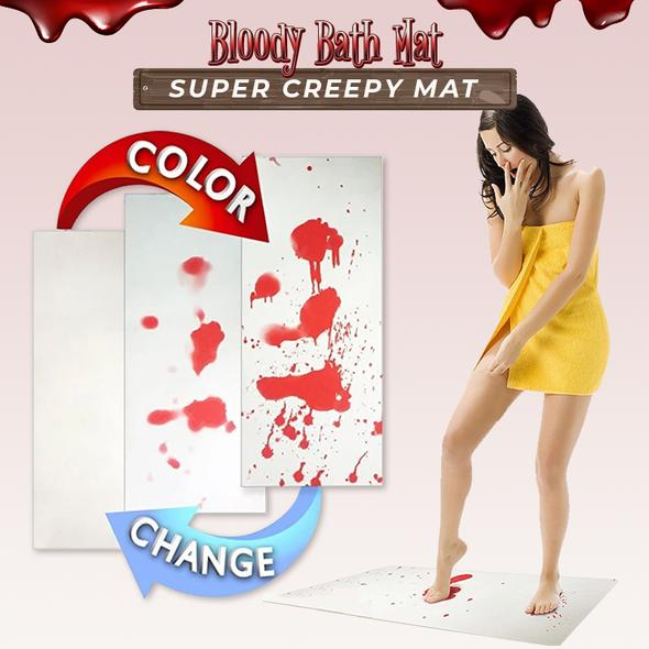 Color Changing Bloody Bath Mat