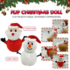 Reversible Christmas Doll