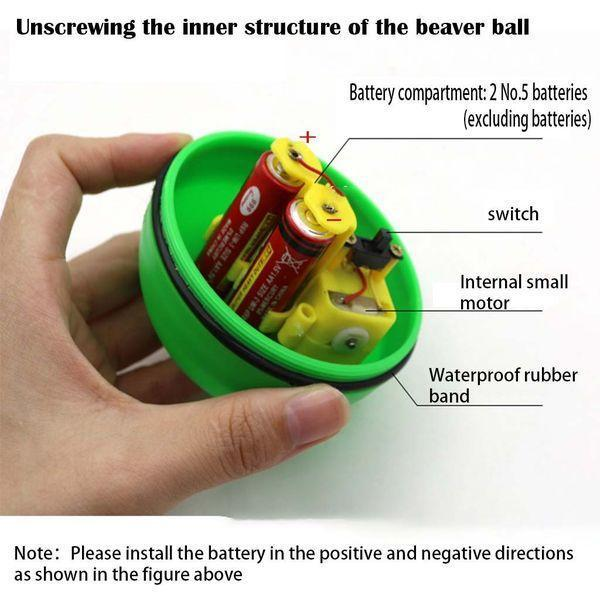 Electric Beaver Ball Toy