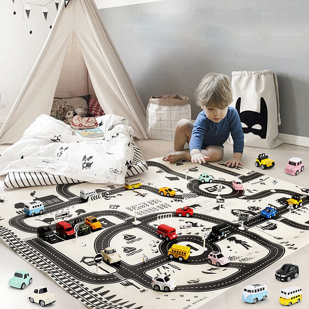 Road Play Mat