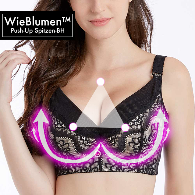 WieBlumen™ Push-up BH C&D