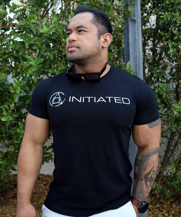 Initiated Logo-Front Tee
