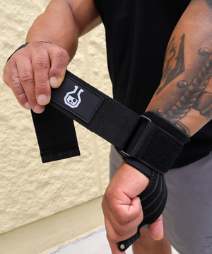Lifting Straps - Adjustable with Metal Wedge