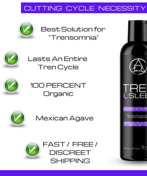 "Tren Sleep Anabolic Support For ""TRENsomnia"""