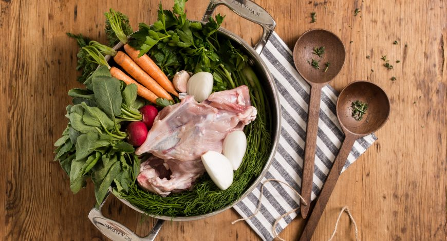 Organic Bone Broth & Stock Recipe