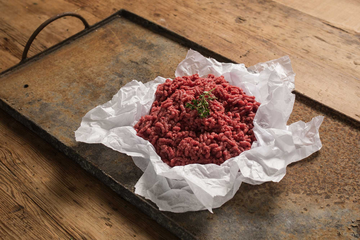 Certified Organic Beef Mince