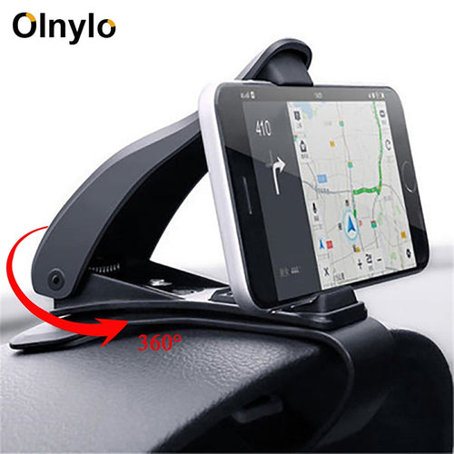 Car Phone Mobile Holder Dashboard Bracket for iPhone 11 Pro XR Huawei Universal 360 Mount Stand Holder for Cell Phone in Car GPS