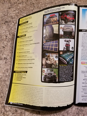4wd toyota owner magazine, solar panel, solar blanket, off grid trek