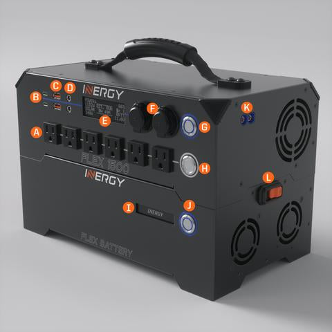 Inergy Flex 1500 Power Station