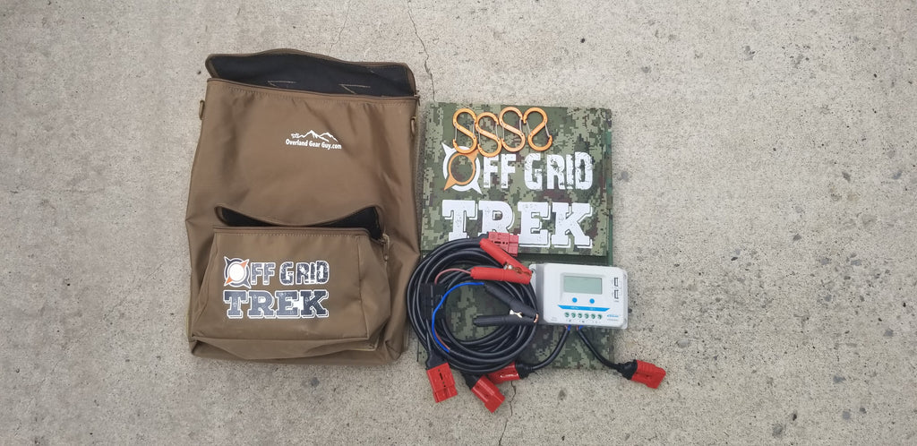 Carrying Bag for 215W/200W or 120W Solar Blanket & Accessories No US Sales Tax! - Off Grid Trek