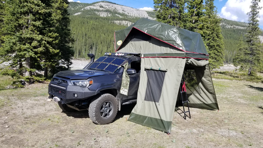 Annex Room for 3 Person Roof Top Tent USD Pricing - Off Grid Trek
