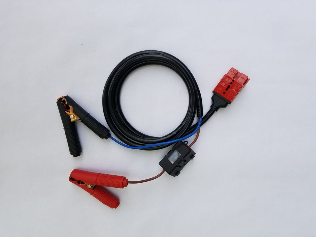 Battery Clip Cable No US Sales Tax! - Off Grid Trek