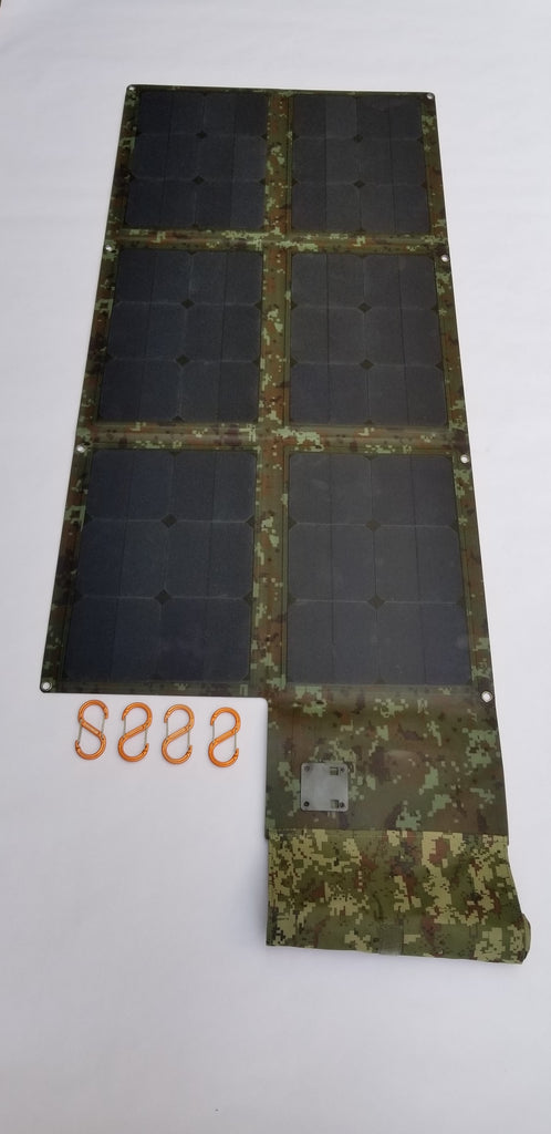 120W Solar Blanket 23.5% Efficiency Rating 7.9lbs No US Sales Tax!