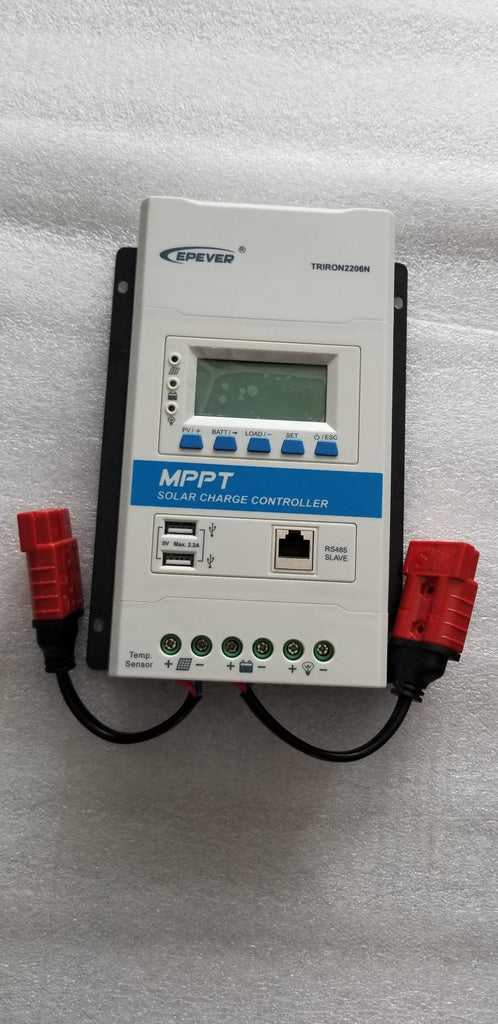 MPPT 12 OR 24V 20AMP SOLAR CONTROLLER W 10CM WIRE TO ANDERSON No US Sales Tax!