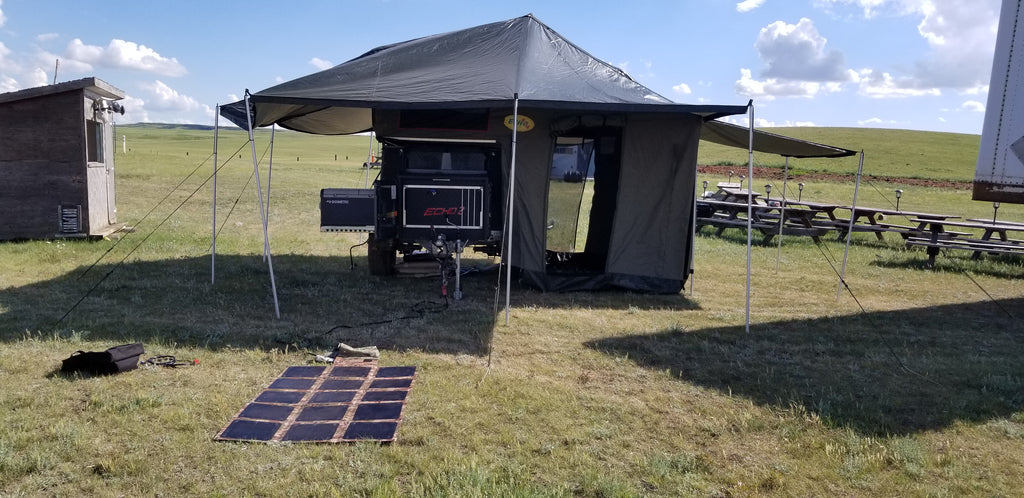 Echo Tec2 Sleeps 7, only 990lbs Demo Unit available for US$22,995.00 - Off Grid Trek