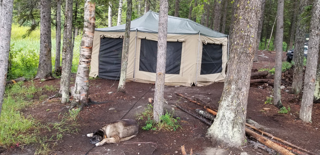 Echo Tec5 sleeps 7, only 1279lbs - Off Grid Trek