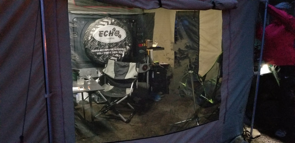Echo Tec2 Sleeps 7, only 990lbs Demo Unit available for US$19,995.00 - Off Grid Trek