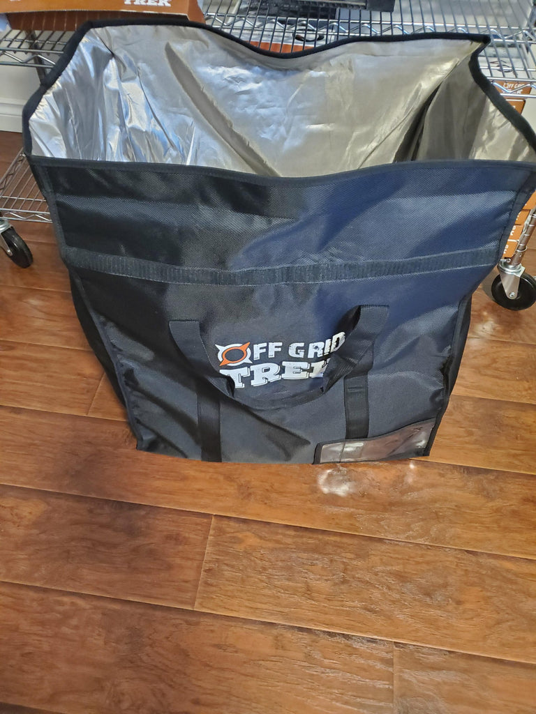 OGT Large Faraday Bag 126L, Room for all of your Electronics, no US Sales Tax! - Off Grid Trek