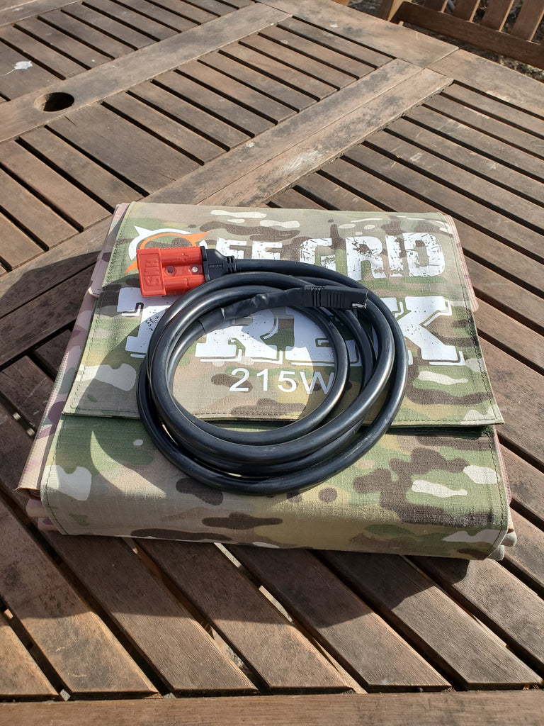 Zamp Solar Charging Cable No US Sales Tax! - Off Grid Trek