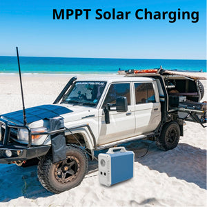 200W Solar Blanket Bundle with Bluetti 2400Wh Solar Generator, NO US SALES TAX! - Off Grid Trek