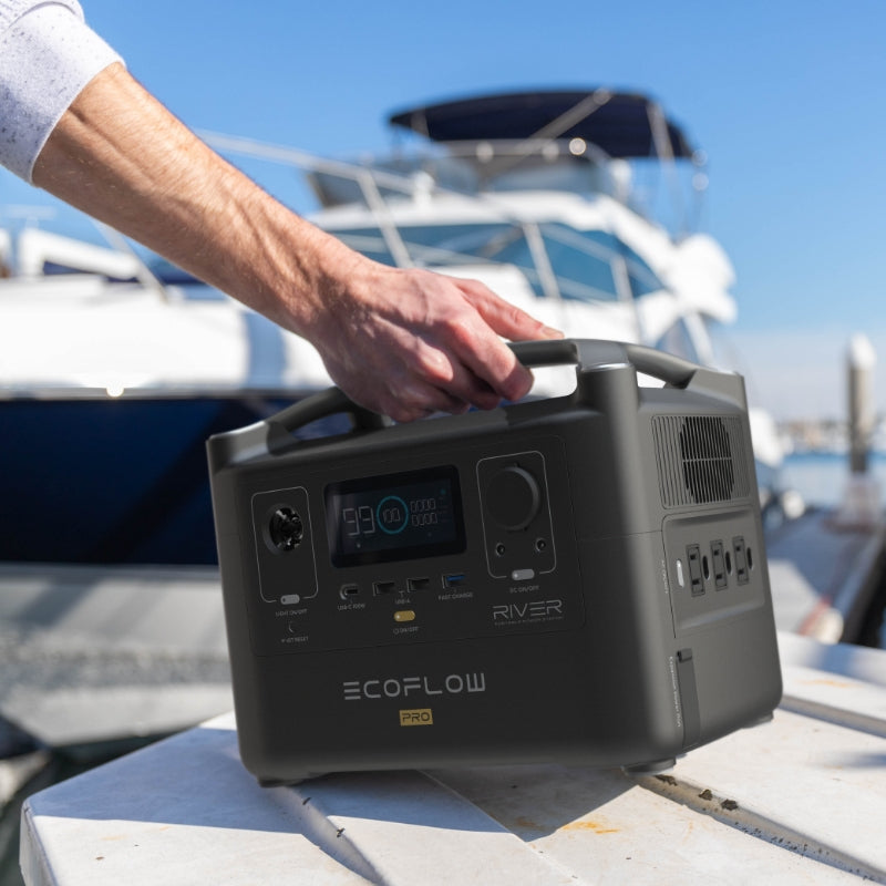 EcoFlow River 600 PRO 720wH / 600W Portable Power Station - Off Grid Trek