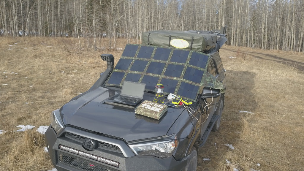 200W Solar Blanket 23.5% efficiency rating 13.6lbs No US Sales Tax!