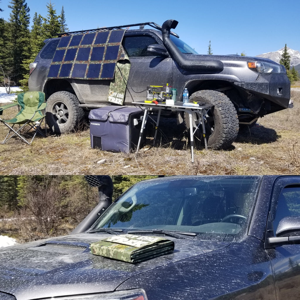 215W Solar Blanket 23.8% efficiency rating 13.6lbs No US Sales Tax! - Off Grid Trek