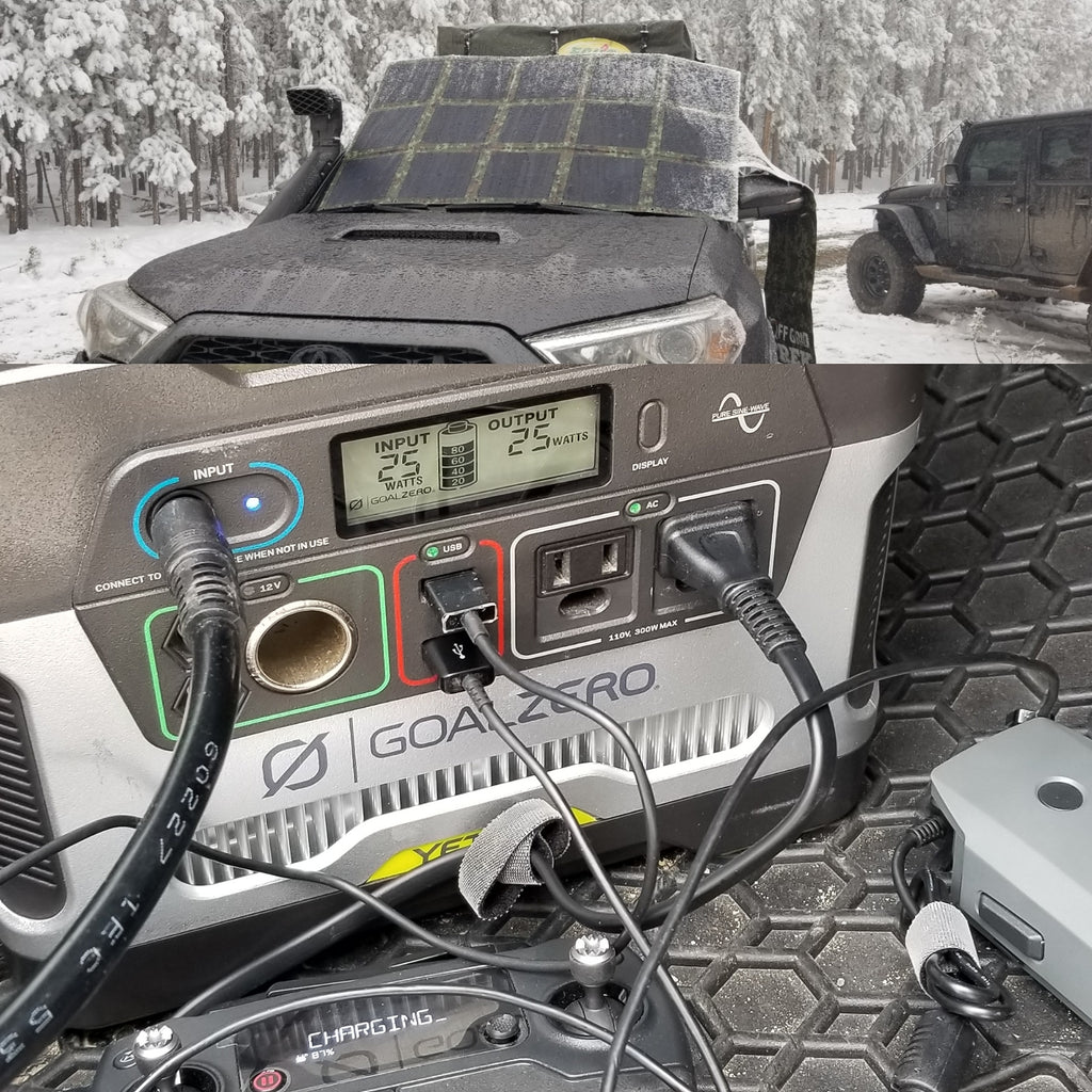 200W Solar Blanket 23.5% efficiency rating 13.6lbs No US Sales Tax! - Off Grid Trek