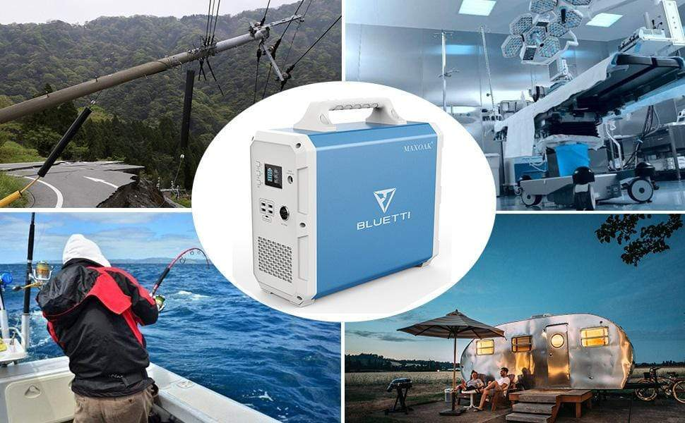 Bluetti Solar Power Station EB150 1500Wh/1000W, NO US SALES TAX! + Free Shipping - Off Grid Trek
