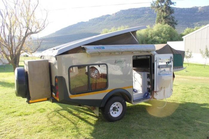 Kavango Tec Caravan Sleeps 4, 2530lbs - Off Grid Trek