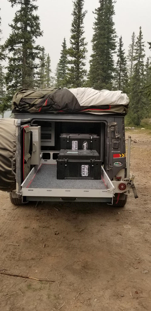 Echo Tec5 sleeps 7, 1279lbs Demo unit available for US$29,995.00 - Off Grid Trek