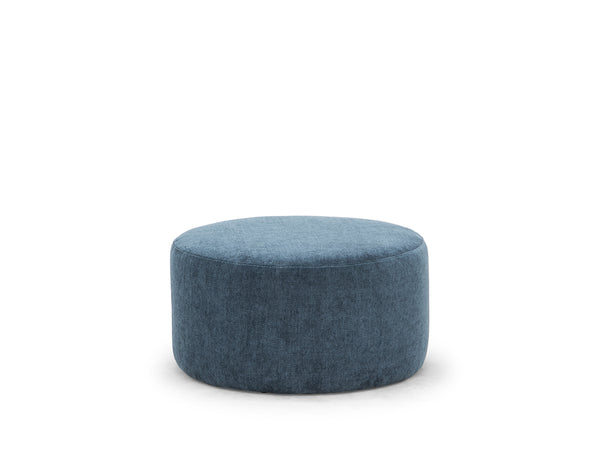 Aida Pouf (Medium), Dusty Blue