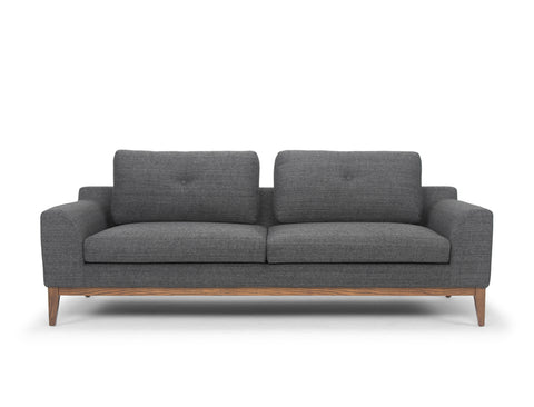 Alessia 3 Seater Sofa, Carbon Grey
