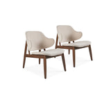 Alina Lounge Chair, Set of 2