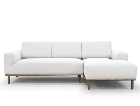 Anders L-Shape Sofa (RHF), Winter Grey