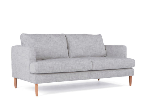 Anne 2-Seater Sofa, Light Grey