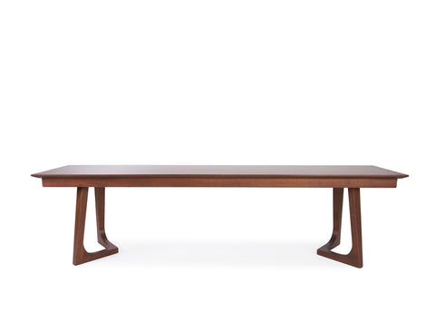 Aster Bench (170cm) - Solid Black Walnut